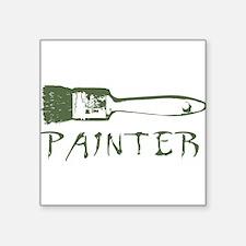 "painter Square Sticker 3"" x 3"""