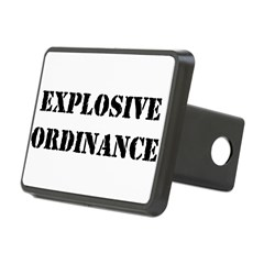 EXPLOSIVE ORDINANCE Hitch Cover