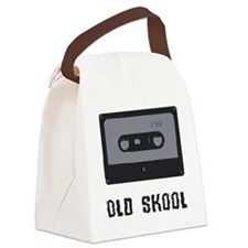 old school cassette Canvas Lunch Bag