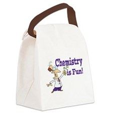 chemistry is fun Canvas Lunch Bag
