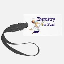 chemistry is fun Luggage Tag