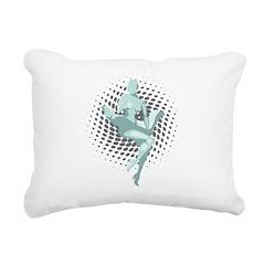 Mechanized Marilyn Rectangular Canvas Pillow