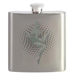 Mechanized Marilyn Flask
