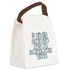 i dont sparkle Canvas Lunch Bag