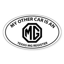 My Other Car is an MG - Octogon Logo with TMGR Sti