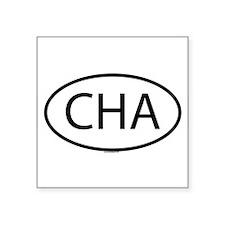 CHA Oval Sticker