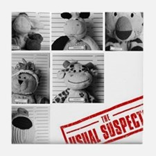 the Usual Suspects Tile Coaster