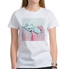 Napping Westie T-Shirt