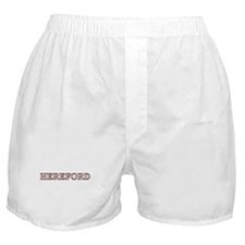 Hereford Family Crest Boxer Shorts