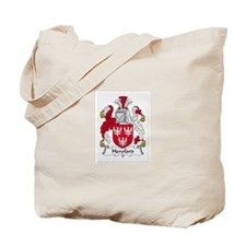 Hereford Family Crest Tote Bag