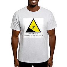 No Dancing On Mountain Ash Grey T-Shirt