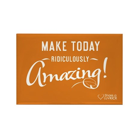 2x3 Magnet Transparent - Make today ridiculously a