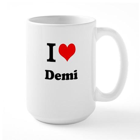 I Love Demi Mugs