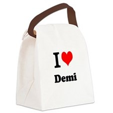 Demi Canvas Lunch Bag