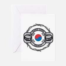 Korean Hockey Greeting Cards (Pk of 10)