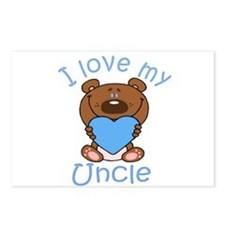 I love my Uncle Postcards (Package of 8)