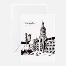 Marienplatz Greeting Cards (Pk of 20)