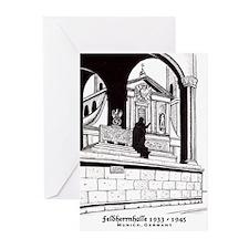 Feldherrnhalle Greeting Cards (Pk of 10)