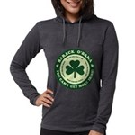 cantget.png Womens Hooded Shirt
