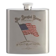 Star Spangled Banner Flask