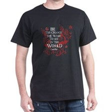 Be the Change - Red Vine T-Shirt