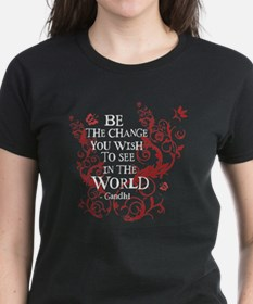 Be the Change - Red Vine Tee