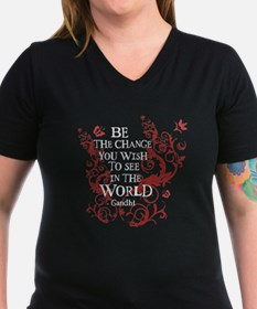 Be the Change - Red Vine Shirt