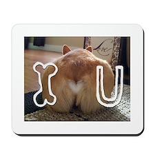 Corgi Love Mousepad
