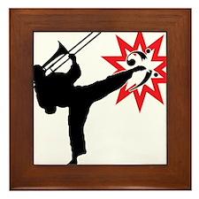 Karate and Music together in one image! Framed Til