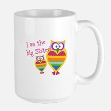 Big Sister ~Owls Large Mug