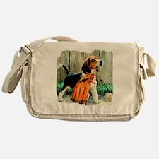 Beagle & Baseball 2 Messenger Bag