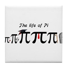 Life of Pi Tile Coaster