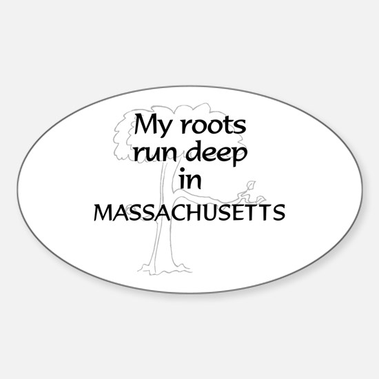 Massachusetts Roots Oval Decal
