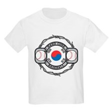 Korean Baseball T-Shirt