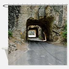 Iron Mountain Road Shower Curtain