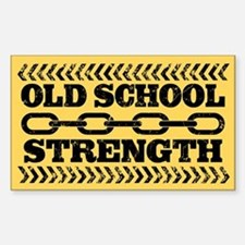 Old School Strength Decal