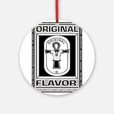 ORIGINAL FLAVOR Logowear Ornament (Round)