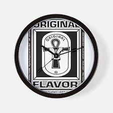 ORIGINAL FLAVOR Logowear Wall Clock
