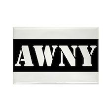 Awny Rectangle Magnet