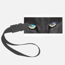 Cool Cat Eyes Luggage Tag