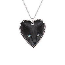 Unique Cat w/ Cool Eyes Necklace