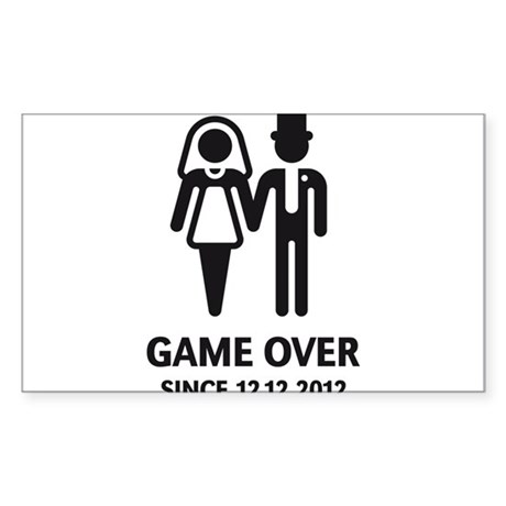 Game Over Since 12.12.2012 (Wedding / Marriage) St