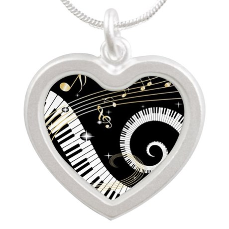 musicgiftsquare.jpg Silver Heart Necklace