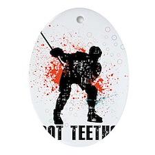 Got teeth? Ornament (Oval)