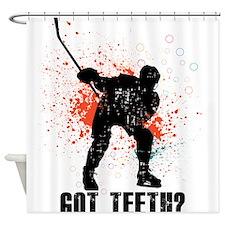 Got teeth? Shower Curtain