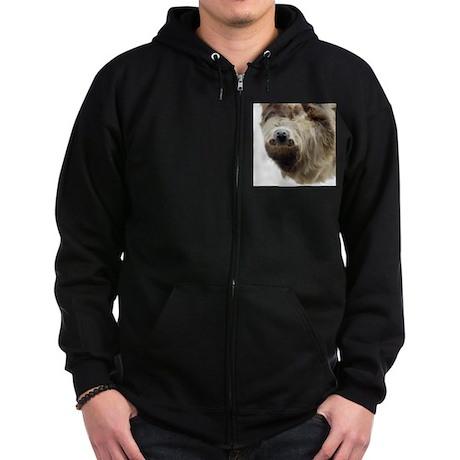 Sloth Zip Hoodie (dark)