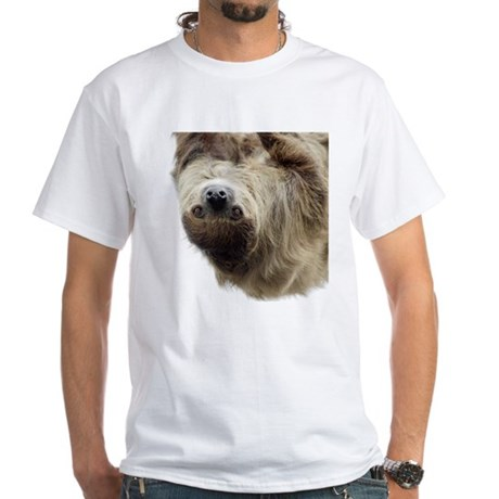 Sloth White T-Shirt