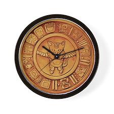 Mayan Cat Calander Wall Clock