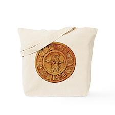 Mayan Cat Calander Tote Bag