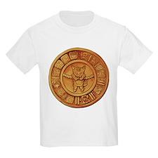 Mayan Cat Calander T-Shirt